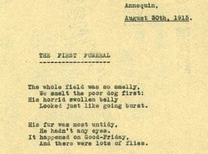 The First World War Poetry Digital Archive