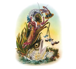 Illustrations from Alan Aldridge's The Butterfly Ball and the Grasshopper's Feast