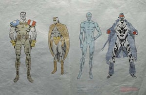 Watching the watchmen colour guide