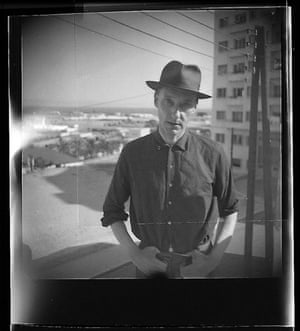 Self portrait of William Burroughs