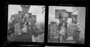 William Burroughs self portrait in Tangiers