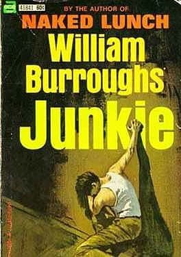 The cover of William Burroughs's Junkie