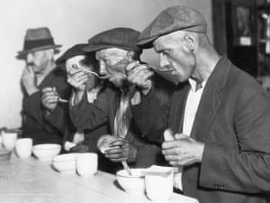 The Great Depression soup kitchen
