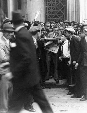 Outside New York Stock Exchange October 1929