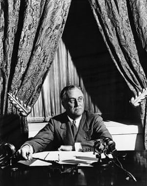 March 12 1933: Franklin Roosevelt prepares for his first 'fireside chat'