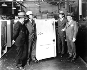 Refrigerator in 1929
