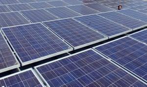 solar panels google roof