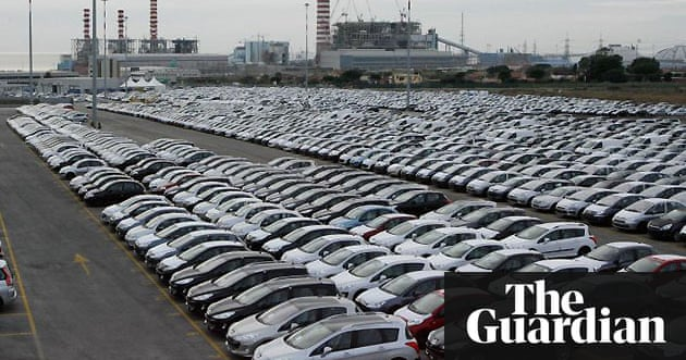 Growing stocks of unsold cars around the world   Business   The ...
