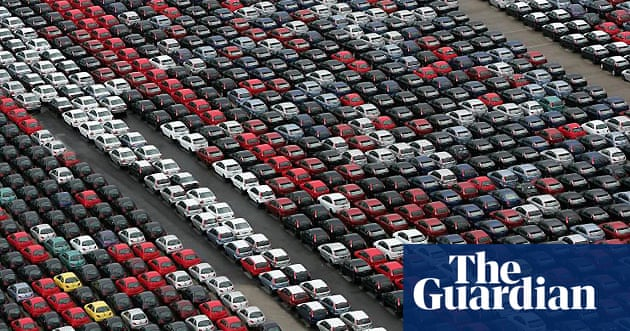 Growing stocks of unsold cars around the world   Business   The Guardian