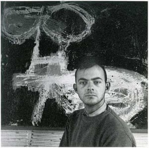Cy Twombly in the 1950s