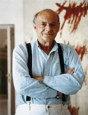 Artist Cy Twombly