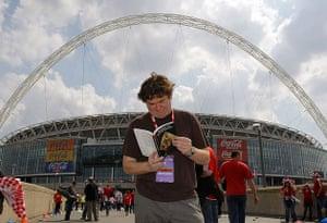 Jonathan Jones at Wembley