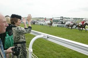 Judith Mackrell at Epsom Races