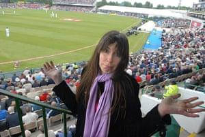 Caroline Sullivan at Old Trafford