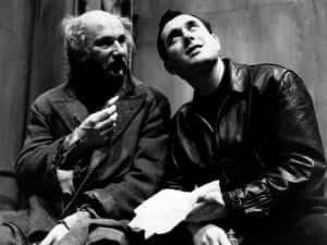 Donald Pleasance and Harold Pinter