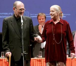 Harold Pinter and Alessandra Serra