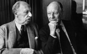 Ralph Richardson and John Gielgud