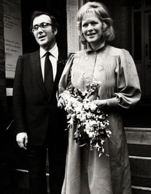 Pinter and Lady Antonia Fraser