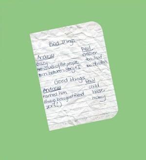 Found notes book by Found magazine