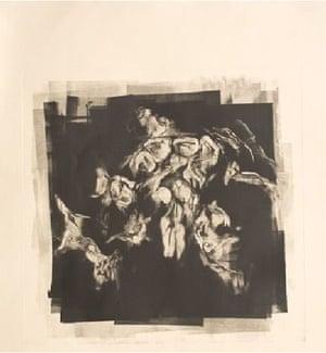 Untitled, mono/etching print