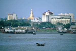 Rangoon harbour