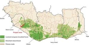 Gola map