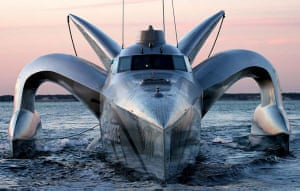 Speedboat Earthrace