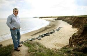 coastal erosion in Norfolk