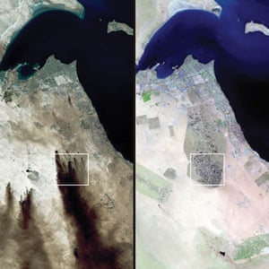 February 1991 and May 2001, Kuwait during and after the Gulf War