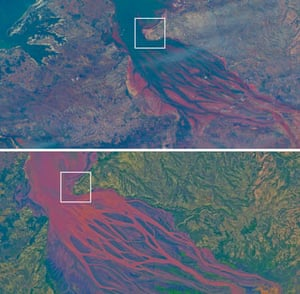 September 4 2003 and March 25 2004, Betsiboka River, Madagascar