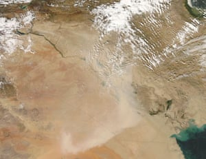 Satellite images from NASA