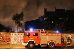 Cinecitta studios fire