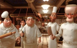 The staff at Gusteau's