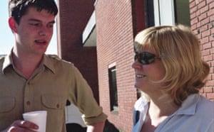 Riley meets Deborah Curtis