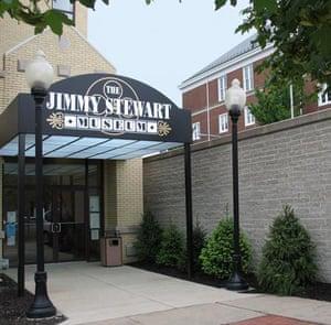 Jimmy Stewart museum exterior