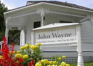 John Wayne birthplace exterior