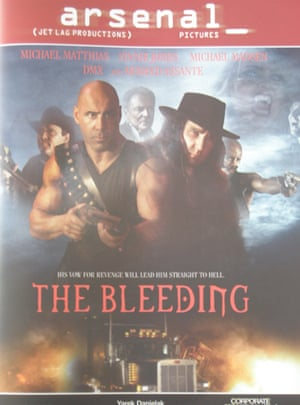 Cannes posters The Bleeding