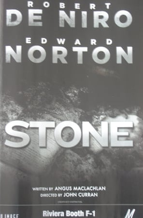 Cannes posters Stone