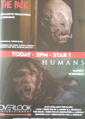 Cannes posters Humans and The Pack
