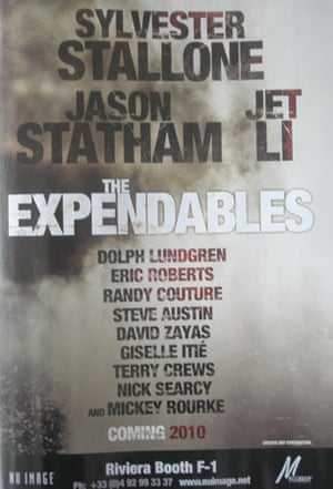 Cannes posters Expendables