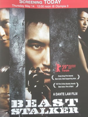 Cannes posters: The Beast Stalker