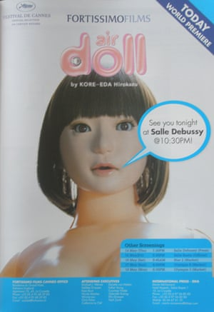 Cannes poster Air Doll