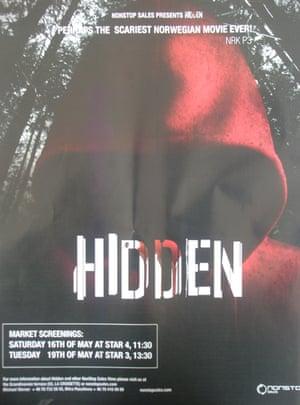 Cannes poster Hidden