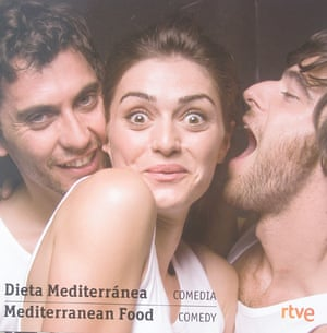 Cannes posters - Mediterranean Food