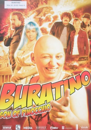 Cannes posters - Burantino