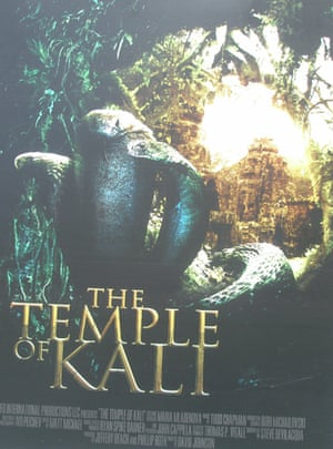 Cannes posters - The Temple of Kali