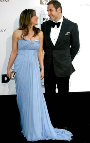 Liz Hurley and David Walliams