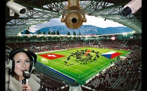 The opening games of Euro 2008