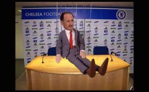 Big Phil Scolari at Stamford Bridge