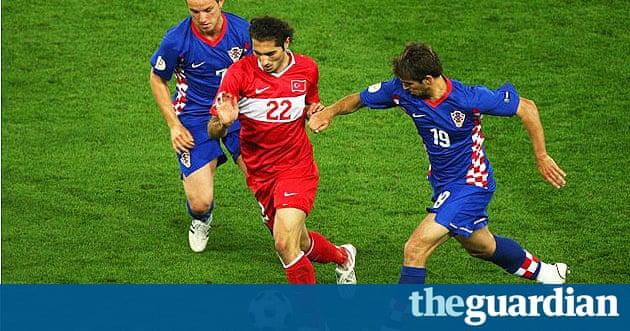 Fit croatian football babe teasing in uniform - 5 2